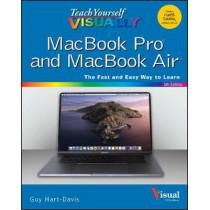 Teach Yourself VISUALLY MacBook Pro and MacBook Air by Guy Hart-Davis, 9781119683896