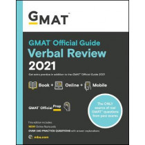 GMAT Official Guide Verbal Review 2021: Book + Online by GMAC (Graduate Management Admission Council), 9781119687887