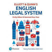 English Legal System by Emily Allbon, 9781292309361