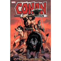 Conan The Barbarian: The Original Marvel Years Omnibus Vol. 4 by Roy Thomas, 9781302917890