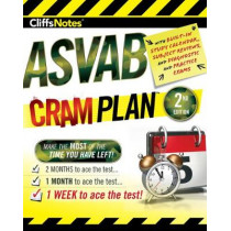 Cliffsnotes ASVAB Cram Plan by Bookworks,Corporation American, 9781328637925