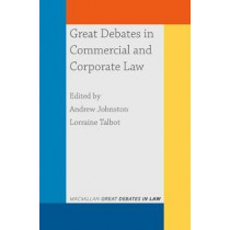 Great Debates in Commercial and Corporate Law by Andrew Johnston, 9781352009316