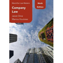 Company Law by Janet Dine, 9781352010008
