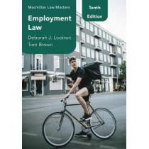 Employment Law by Deborah J. Lockton, 9781352010022