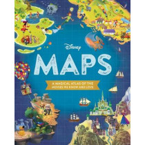 Disney Maps: A Magical Atlas of the Movies We Know and Love by Disney Book Group, 9781368018678