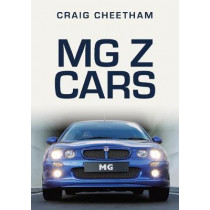 MG Z Cars by Craig Cheetham, 9781398100954