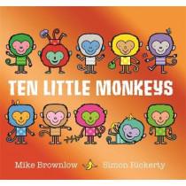 Ten Little Monkeys by Mike Brownlow, 9781408355893