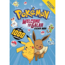 Pokemon Welcome to Galar 1001 Sticker Book by The Pokemon Company International, 9781408363034