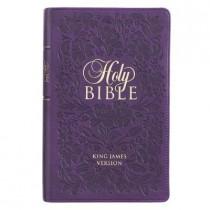 KJV Bible Giant Print Purple, 9781432133153