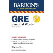 GRE Essential Words by Philip Geer, 9781438012902