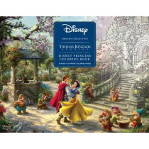 Disney Dreams Collection Thomas Kinkade Studios Disney Princess Coloring Poster by Thomas Kinkade, 9781449497071