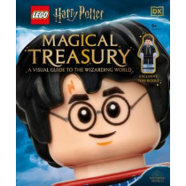 Lego(r) Harry Potter Magical Treasury (with Exclusive Lego Minifigure): A Visual Guide to the Wizarding World by Elizabeth Dowsett, 9781465492371
