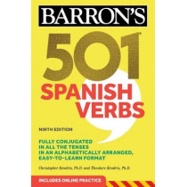 501 Spanish Verbs by Christopher Kendris, 9781506260600