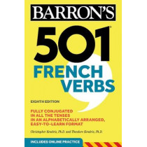 501 French Verbs by Christopher Kendris, 9781506260648