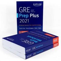 GRE Complete 2021: 3-Book Set: 6 Practice Tests + Proven Strategies + Online by Kaplan Test Prep, 9781506262468
