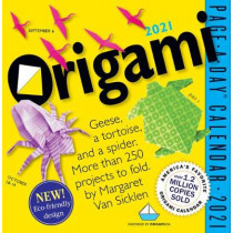 2021 Origami Page-A-Day Calendar by Margaret Van Sicklen, 9781523508846