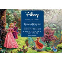 Disney Dreams Collection Thomas Kinkade Studios Disney Princess Color Your Own P by Thomas Kinkade, 9781524855642