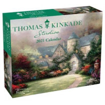 Thomas Kinkade Studios 2021 Day-To-Day Calendar by Thomas Kinkade, 9781524856014