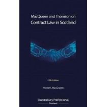 Contract Law in Scotland by Hector L MacQueen, 9781526513830
