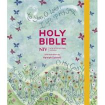 NIV Journalling Bible Illustrated by Hannah Dunnett (new edition) by New International Version, 9781529391350