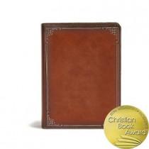 CSB Ancient Faith Study Bible, Tan LeatherTouch, 9781535940504