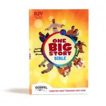 KJV One Big Story Bible, Hardcover by Holman Bible Publishers, 9781535990622