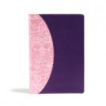 KJV One Big Story Bible, Pink/Purple LeatherTouch by Holman Bible Publishers, 9781535990646