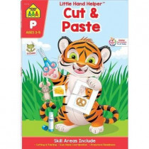 Cut & Paste Ages 3-5 by Zone Staff School, 9781601591166