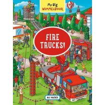 My Big Wimmelbook: Fire Trucks! by Max Walther, 9781615196272