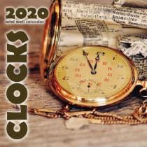 Clocks 2020 Mini Wall Calendar by Wall Publishing, 9781642525328