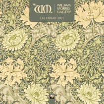 William Morris Gallery Wall Calendar 2021 (Art Calendar) by Flame Tree Studio, 9781787559929