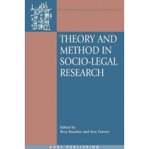 Theory and Method in Socio-legal Research by Reza Banakar, 9781841136264