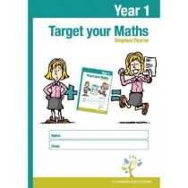 Target Your Maths Year 1 Workbook by Stephen Pearce, 9781906622619