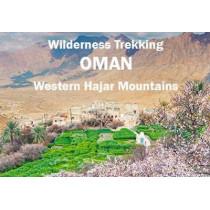 Wilderness Trekking Oman - Map: Western Hajar Mountains by John Edwards, 9781908531957