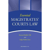 Essential Magistrates' Courts Law by Howard Riddle, 9781909976689