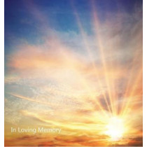 In Loving Memory Funeral Guest Book, Wake, Loss, Memorial Service, Love, Condolence Book, Funeral Home, Church, Thoughts and in Memory Guest Book (Hardback) by Lollys Publishing, 9781912641543