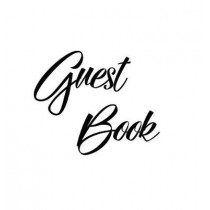 Black Guest Book, Weddings, Anniversary, Party's, Special Occasions, Memories, Christening, Baptism, Visitors Book, Guests Comments, Vacation Home Guest Book, Beach House Guest Book, Comments Book, Wake, Funeral and Visitor Book (Hardback) by Lollys Publi