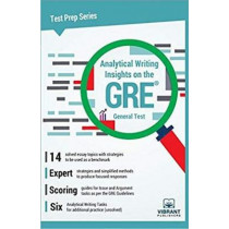 Analytical Writing Insights on the revised GRE General Test by Vibrant Publishers, 9781946383686