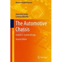 The Automotive Chassis: Volume 2: System Design by Giancarlo Genta, 9783030357085