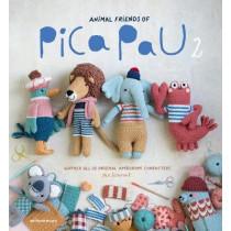 Animal Friends of Pica Pau 2: Gather All 20 Original Amigurumi Characters by Yan Schenkel, 9789491643354