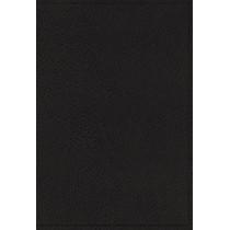 NASB, Single-Column Reference Bible, Wide Margin, Goatskin, Black, Premier Collection, 1995 Text, Comfort Print by Zondervan, 9780310451181