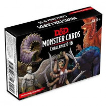 Dungeons & Dragons Spellbook Cards: Monsters 6-16 (D&d Accessory) by Wizards RPG Team, 9780786966714