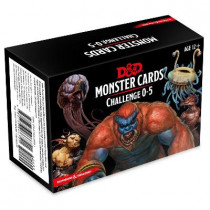 Dungeons & Dragons Spellbook Cards: Monsters 0-5 (D&d Accessory) by Wizards RPG Team, 9780786966721