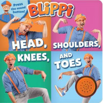 Blippi: Head, Shoulders, Knees, and Toes by Editors of Studio Fun International, 9780794445386
