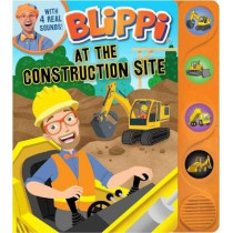 Blippi: At the Construction Site by Editors of Studio Fun International, 9780794446154