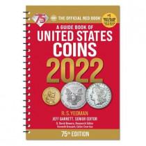 Redbook 2022 Us Coins Spiral by Jeff Garrett, 9780794848903