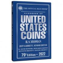 Bluebook 2022 Hard Cover by Jeff Garrett, 9780794848958