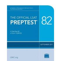 The Official LSAT Preptest 82: (sept. 2017 LSAT) by Law School Council, 9780998339740