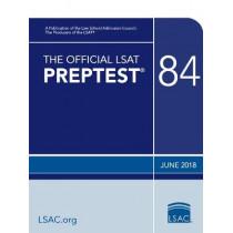 The Official LSAT Preptest 84: June 2018 LSAT by Law School Council, 9780998339795