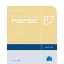 The Official LSAT Preptest 87: (june 2019 Lsat) by Law School Council, 9780999658062
